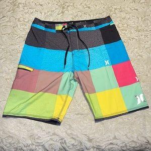 Men's Hurley Board shorts. Size 33.
